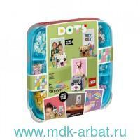Конструктор «DOTs. Подставка для фотографии Животные» : Арт.41904 (ТМ Lego)