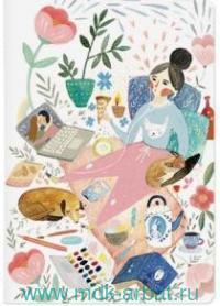 Тетрадь, 40 листов, клетка, «Relax as russians» : арт. 7-40-001/60 (ТМ Bruno Visconti)