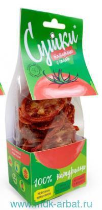 Чипсы овощные 30 гр. «Сушки. Томат с солью» : (ТМ Pastilab)