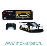 Машина 1:24 «Rastar Pagani Zonda R» цвет белый : Арт.38010W (ТМ RASTAR)