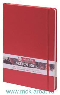 Скетчбук А4 80л. «Art Creation» твердый, красный : Арт.9314203М (ТМ Royal Talens)