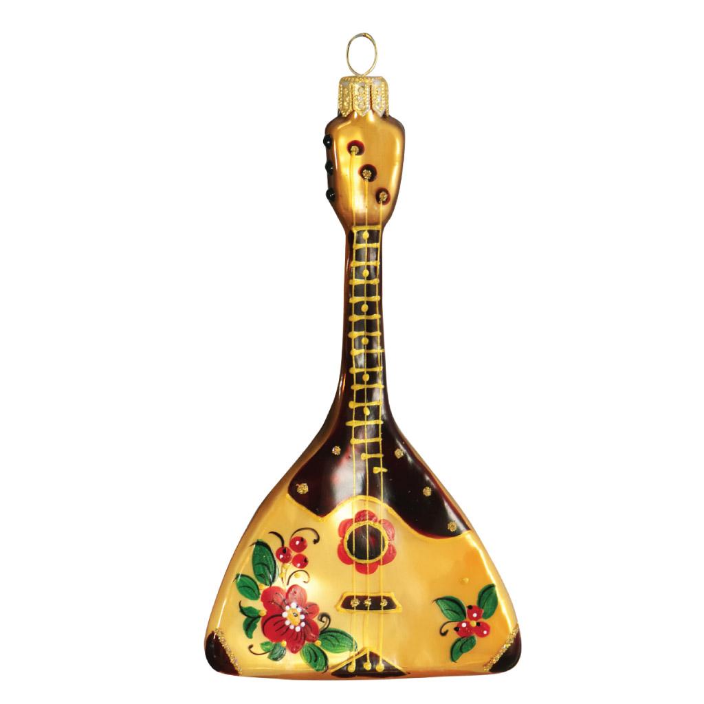 Украшение «Балалайка звонкая» стекло, индивидуальная упаковка : Арт.783.1 (ТМ Ариель)