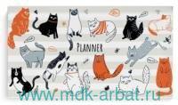 Планинг недатированный «Котики» мягкая обложка : Арт.50709 (ТМ Феникс+)