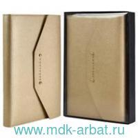 Ежедневник-органайзер недатированный А5+ 120листов золотой : арт.52615 (ТМ Escalada)