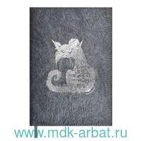 Ежедневник недатированный А5 120 листов «Кошка ломится» : Арт.52864 (ТМ Escalada)