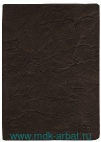 Ежедневник А5 2021 176 л. «Modern» темно-коричневая : Арт.AZ1034emb/brown (ТМ In Folio)