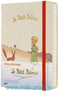 Еженедельник 2021 A6 «Le Petit Prince» цвет белый : Арт.1369098 (ТМ Moleskine)