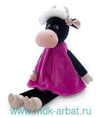 Игрушка мягкая 23см «Коровка Даша в розовом платье» : Арт. MT-MRT022008-23 (ТМ Maxitoys)