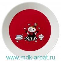 Тарелка 19 см. «Малышка Мю» : Арт.1015565 (ТМ Moomin)