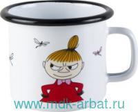 Кружка 370 мл. «Малышка Мю» эмалированная : Арт.1703-030-02 (ТМ Moomin)
