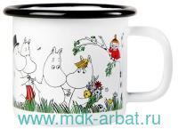 Кружка 150мл«Счастливое семейство» Арт.1703-015-01 (ТМ «Moomin»)