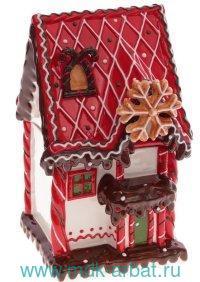 Конфетница «Сказочный дом» : объем 2л, материал - керамика : Арт.743258 (ТМ Ремеко-Центр)