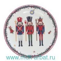 Тарелка «Щелкунчик» керамика : Арт.752109 (ТМ Ремеко-Центр)
