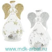 Украшение 10 см «Ангел» стекло : Арт.755951 (ТМ Ремеко-Центр)