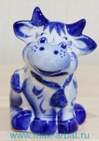 Сувенир керамический «Бычок Борька» : Арт. (ТМ Символ года)