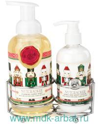 Набор мыло 530 мл.+лосьон 236 мл. «Щелкунчик» : Арт.CAD313 (ТМ Michel Design Works)
