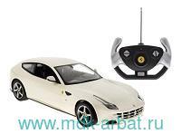 Машина радиоуправляемая 1:24 «Ferrari FF», цвет белый : Арт.46700W (ТМ RASTAR)