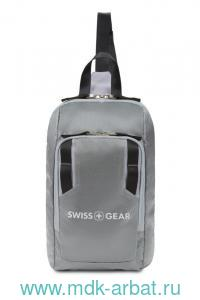 Рюкзак на одно плечо 18х5х33 темно-серый : Арт.3992424550 (ТМ SWISS GEAR)