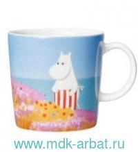 Кружка 300мл «Фреска Муми-мамы» : Арт.1055218 (ТМ Moomin)