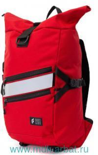 Рюкзак« Techniic Rolltop» красный : Арт.02801 (ТМ Орехов Г.А.)