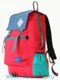 Рюкзак «Citypack FCXL» индиго/алый/мятнный : Арт.02714 (ТМ Орехов Г.А.)