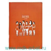 Тетрадь 48 листов клетка «Girls.Красный» : Арт.N2486 (ТМ Be Smart)