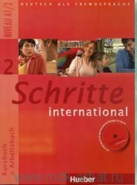 Schritte International 2 : Kursbuch + Arbeitsbuch : Niveau A1/2