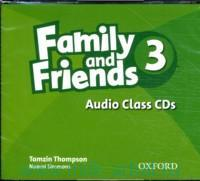 Family and Friends 3 :  Audio Class CD