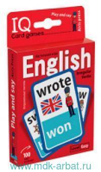 Английские язык. Неправильные глаголы. Play and say. Level Easy : игра развивающая и обучающая : для детей от 9 лет