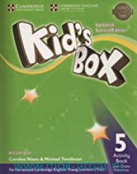 Kid's Box 5 : Activity Book with Online Resources