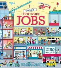 Usborne Look Inside Jobs : With Over 80 Flaps to Lift