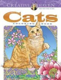Cats : Coloring Book