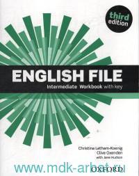 English File : Intermediate : Workbook with key