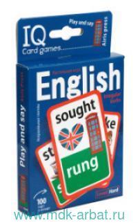 Английские неправильные глаголы. Play and say. Level Hard. Уровень 2 : 100 карточек