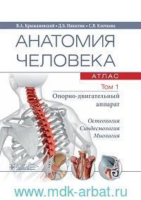 Анатомия человека : атлас. В 3 т. Т.1. Опорно-двигательный аппарат
