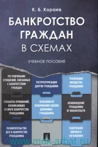 Банкротство граждан в схемах : учебное пособие
