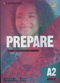 Prepare. Level 2. Student's Book and Online Workbook : A2