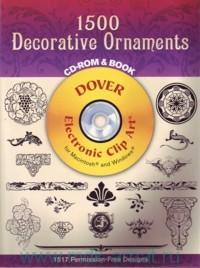 1500 Decorative Ornaments : 1517 Permission-Free Designs : CD-Rom & Book