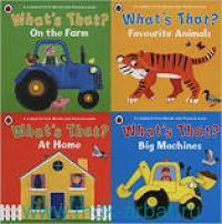 What's That? At Home : A Ladybird First Words and Pictures Book : 4 Books
