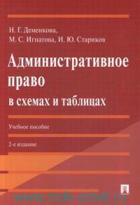 Административное право в схемах и таблицах : учебное пособие