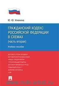 Гражданский кодекс Российской Федерации в схемах (часть вторая) : учебное пособие
