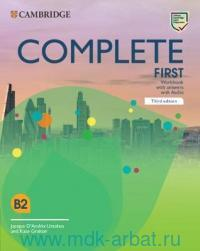 Complete First : Worbook Book with Answers with Audio : B2