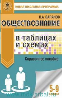 Обществознание в таблицах и схемах : 5-9-й классы