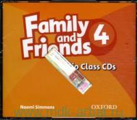 Family and Friends 4 : Audio Class CD