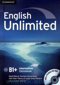 English Unlimited. B1+ : Intermediate : Coursebook
