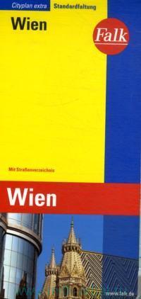 Wien : Cityplan Extra. Standardfaltung = Vienna : City Map