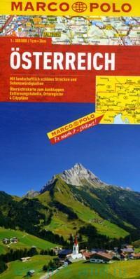 Osterreich = Austria = Autriche : M 1:300 000