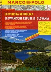 Slovenska Republika = Slowakische Republik = Slovakia : M 1:200 000
