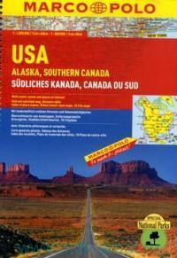 USA. Alaska. Southern Canada = Sudliches Kanada = Canada du Sud : М 1:4 000 000, М 1:800 000