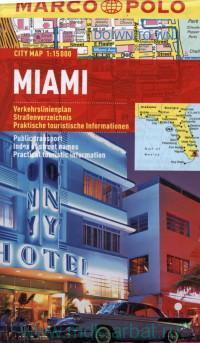 Miami : City map : М 1:15 000